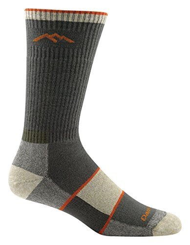 Trek Boot Sock (Darn Tough Men's Coolmax Boot Sock Full Cushion Hike / Trek Socks Olive M 2-PACK)