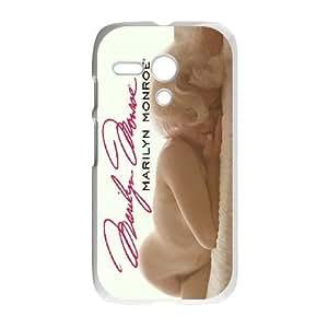 Protection Cover Motorola Moto G Cell Phone Case White Leyyk Marilyn Monroe Durable Rubber Cases