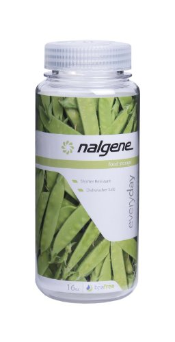 Nalgene Kitchen Storage Wide Mouth, 16-Ounce, Clear