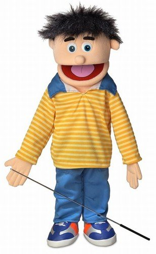 25″ Bobby, Peach Boy, Full Body, Ventriloquist Style Puppet