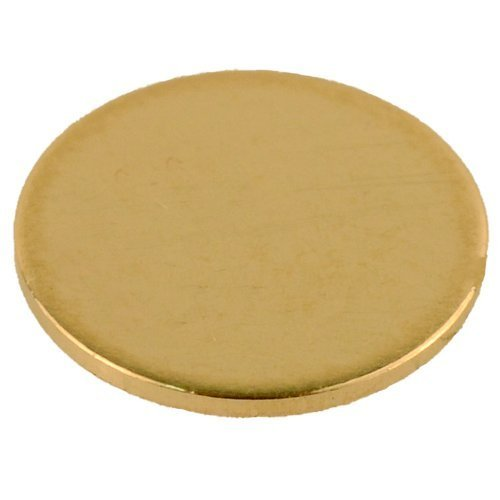 (14K Yellow Gold Calibration Disc Gemoro Auracle AGT1 AGT2 Gold Testers)
