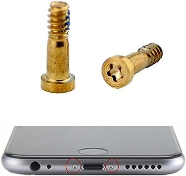 Schrauben Set f/ür iPhone 6 Silber Geh/äuse iPhone 6 Schrauben-Set Schrauben Komplett-Set Kreuzschrauben f/ür den Kompletten Austausch der Apple iPhone 6 Schrauben IPS6-Sil KRS IPS6-Sil