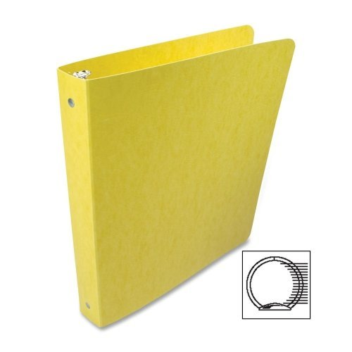 Acco Presstex Coated Round Ring Binder - 1 Binder Capacity - Letter - 8.50 Width x 11 Length Sheet Size - 3 x Round Ring Fastener - 20 pt. - ()