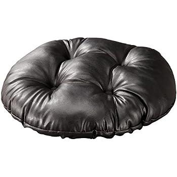 Amazon Com Walterdrake Faux Leather Tufted Bar Stool