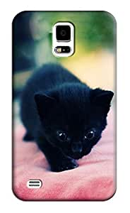 Cat Hard Back Shell Case / Cover for Samsung Galaxy S5