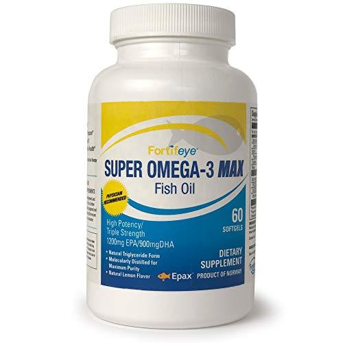 Fortifeye Vitamins Triglyceride Supplement Strength