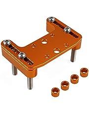 NICECNC Orange Top Bar Clamp Handlebar GPS Mount Compatible with KTM 790-1290 Super Adventure R S T 2004-2021