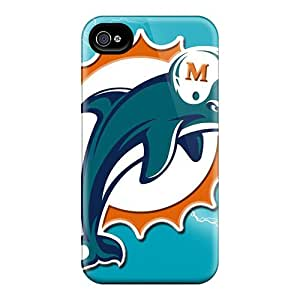 Iphone 6 EtI12384sEwO Allow Personal Design HD Miami Dolphins Image Best Hard Cell-phone Case -LauraAdamicska