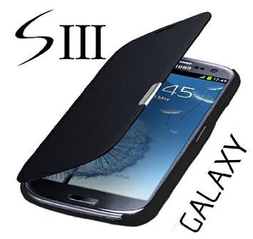 5da0845311f Funda para teléfono Samsung Galaxy S3 i9300 y S3 LTE i9305, color negro:  Amazon.es: Electrónica