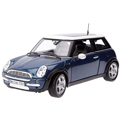 Maisto 31656grn Mini Cooper with Sunroof Green 1-18 Diecast Model Car: Toys & Games