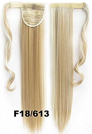 Haarverlangerung Zopf 90 G 56 Cm Zum Anklipsen Glattes Haar