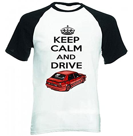 TEESANDENGINES Alfa Romeo 75 Turbo Evoluzione Keep Calm 2 Camiseta ...