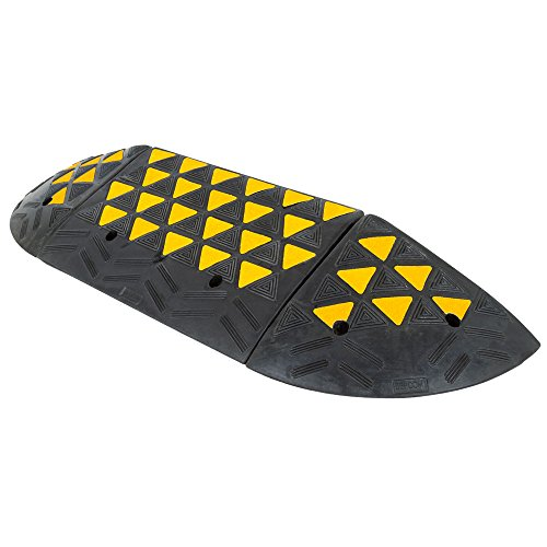 "Discount Ramps Guardian 6"" Rubber Curb Ramp with Round En..."