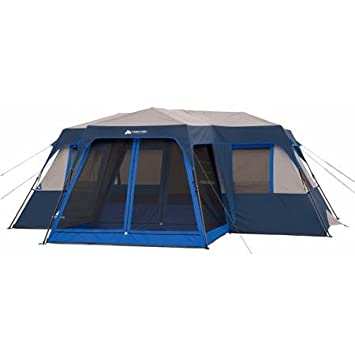 Ozark Trail 12-Person Instant Cabin Tent with Screen Room  sc 1 st  Amazon.com & Amazon.com : Ozark Trail 12-Person Instant Cabin Tent with Screen ...