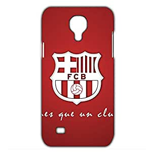 Fashion Design FC FC Barcelona Team Logo Phone Case Cover For Samsung Galaxy S4mini 3D Plastic Phone Case