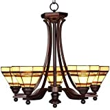 Addison 5 Light Chandelier Oil Rubbed Bronze For Sale