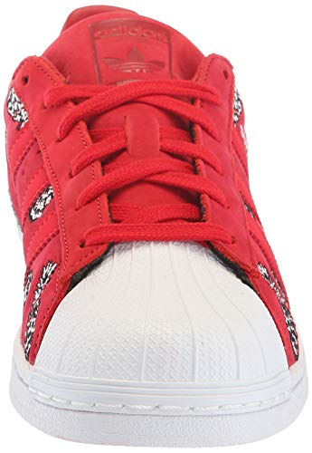 Blanco Zapatilla Adidas Superstarfashion scarlet Deporte Escarlata De white La scarlet Originals xqgrgAwtWY