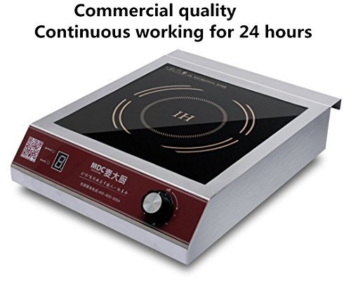 MAIDACHU MDC 3500 Watt Commercial Induction Cooktop Burner, Hot plate (Standard Size) Induction Cooktops at amazon