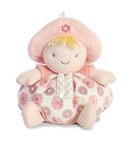 Rattle Newborn Ty (Aurora World First Doll Plush, Pink)
