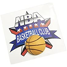 Pimall Team Club Car Auto PVC Paster Sticker Vehicle-logo Badge Emblem (Basketball Club)