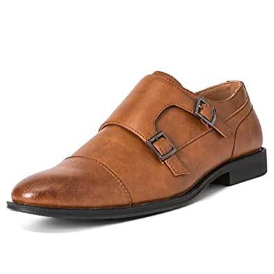 Queensbury Mens Closed-Toe Brown Size: 7