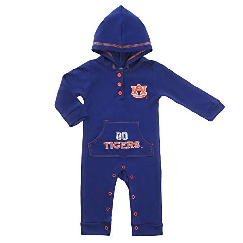 Auburn Tigers University Baby and Toddler Hooded Romper (6-9)
