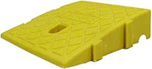 Zhou-WD Small Ramps, Lightweight Plastic Slope Pad Home Wheelchair Threshold Ramps Kindergarten Classroom Step Mat 7CM/11CM car ramps (Color : Yellow, Size : 25277cm)