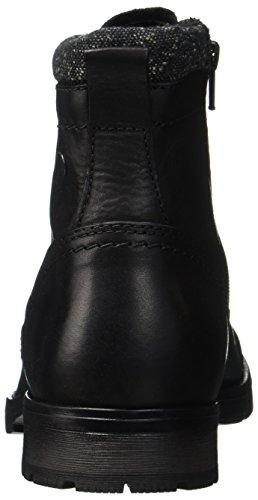 Black Classici amp; Stivali Black Uomo Leather Nero JACK JONES Jfwmarly 6ZPwnHnvq