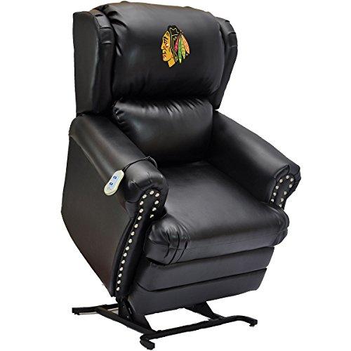 Chicago Blackhawks Recliner Blackhawks Leather Recliner