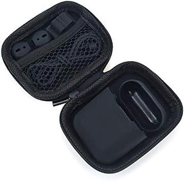 Mini Cremallera Estuche rígido para Auriculares Estuche para Auriculares Bolsa de Almacenamiento Organizador de Cable USB Protector para Airpods Estuche para Auriculares: Amazon.es: Electrónica
