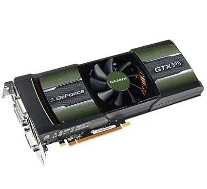 Gigabyte GV-N590D5-3GD-B GeForce GTX 590 3GB GDDR5 - Tarjeta ...