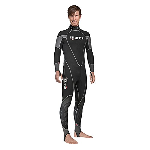 Mares Mens 1mm Coral Full Wetsuit (Black, 3X-Large)