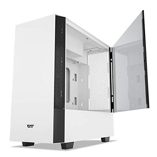 darkFlash V22 White Mid Tower Computer Case ATX
