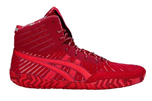 ASICS Aggressor 4 L.E. Wrestling Shoes, Classic Red/Burgundy, Size 12 For Sale