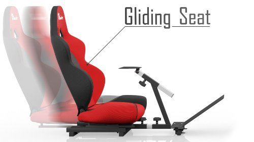Openwheeler Classic Racing Seat Driving Simulator Gaming Chair (Gear Shifter Mount Not Included)