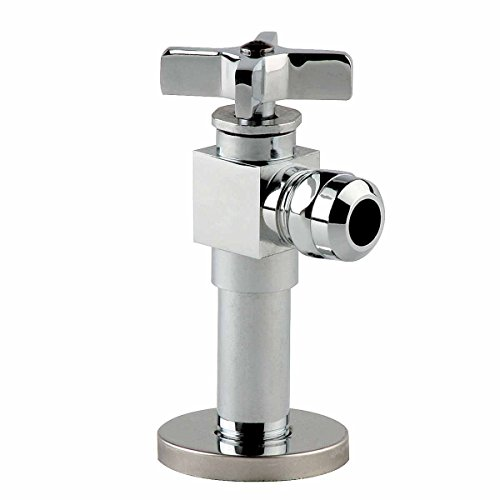Cross Handle Toilet Angle Stop Valve 1/2