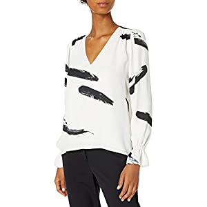 Joie womens19-5-006327-TP01180DLong Sleeve Blouse Shirt