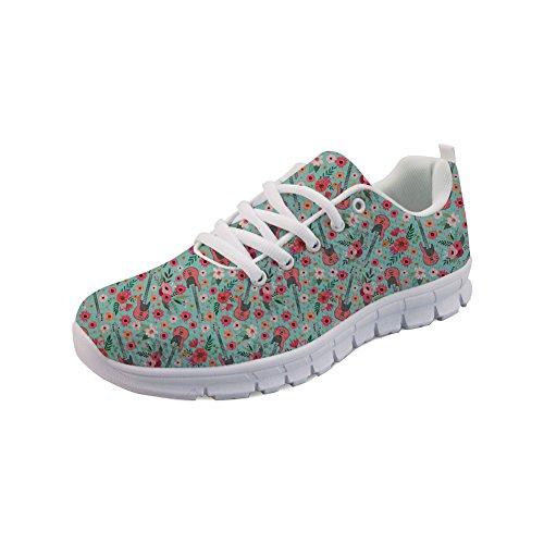Women Scarpe Showudesigns Sportive Up Running Outdoor Girls Lace Sneaker 3 Stile qTHZTBw