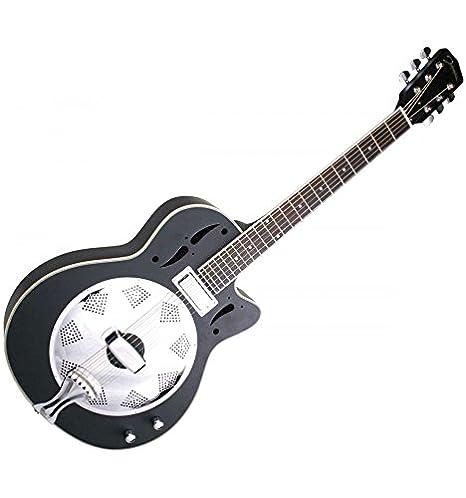 Recording King guitarra Dobro JR520/CEBM Swamp Stomper eléctrico ...