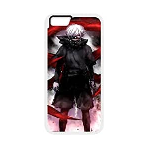 Tyquin Tokyo Ghoul Cool Case for IPhone 6 Plus, with White