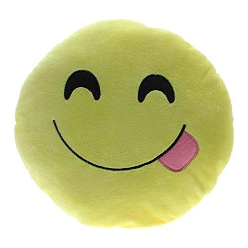 Foreveryang Novelty Emoticon Stuffed Cushion