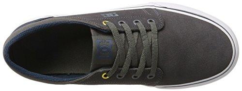 DC Shoes Trase, Zapatillas Para Niños Gris (Grey)