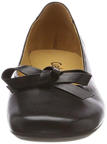 Gabor Dames Ongedwongen Gesloten Flat Black (zwart)