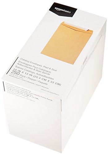 AmazonBasics Catalog Envelopes, Peel & Seal, 10 x 13 Inch, Brown Kraft, 250-Pack Photo #5