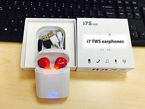 Fashion I7s Tws Bluetooth 5.0 Earbuds Portable Universal Type Tws Wireless Earphones With Charging Box Mini Bluetooth Headsets Earphones & Headphones