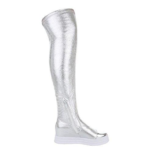 Silber Classic Ital Boot Women's Design TqHxwXF