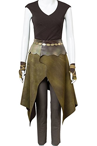 Cosplaysky Game Of Thrones Costume Season 6 Daenerys Targaryen Dany Indigenous Outfit Small - Dany Game Of Thrones Costume
