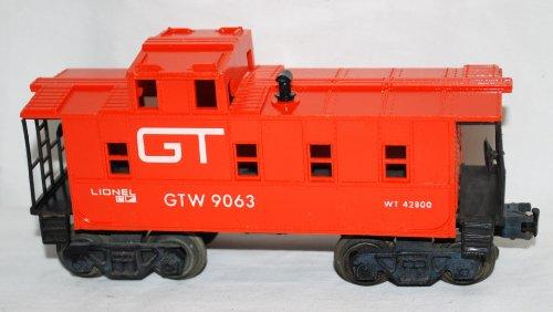 caboose SP-Type GTW Grand Trunk Western 1970-1973 Orange Canada MPC - Lionel 9063