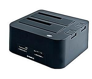 """B-Move BM-HDF01 - Base de conexión para disco duro de 2.5""""/3.5"""", USB 2.0"""