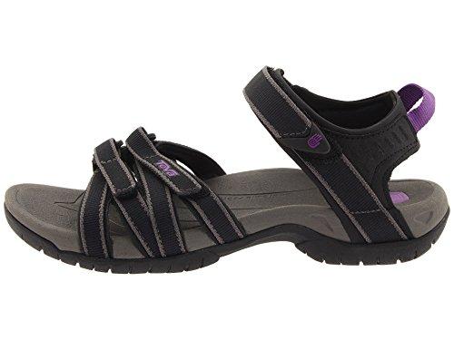 Teva Damen Tirra Athletic Sandale Schwarzgrau